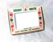 Vintage Christmas Shiny Brite Ornament Box #2 Digital Craft File Printable INSTANT DOWNLOAD
