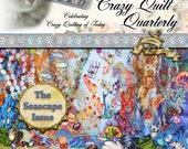 Crazy Quilt Quarterly Magazine Summer 2015