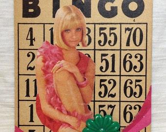 Pretty inPink Bingo Card Collage