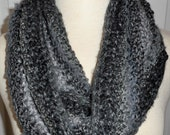 CLEARANCE Moebius Knit Scarf A Little Bit of This and A Little Bit of That The Greys