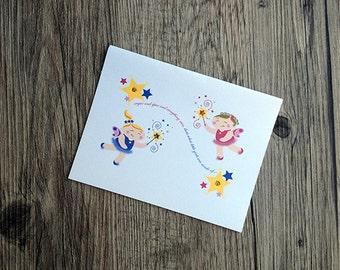 SM Designs - Fairy Notecards
