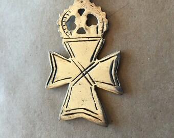 Ethiopian Coptic Cross  (Item # P51)