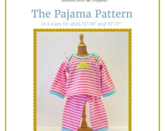 The Pajama Pattern in 2 sizes
