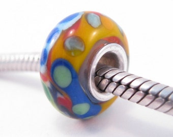 De Colores Bead Charm Glass Lampwork SRA