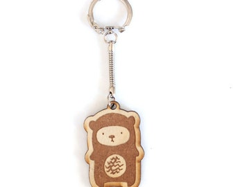 Cute Bear Keychain Gift