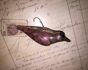 Antique Bird Christmas Ornament