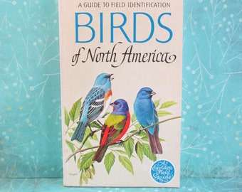 Vintage Birds of North America Guide to Field Identification