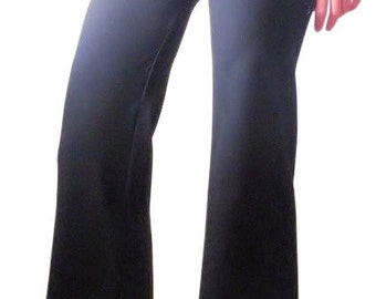 Yoga Pants, Chill Realm yoga pants-Organic Cotton—HerbanDevi