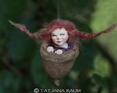 pixie girl Feli, handmade decoration