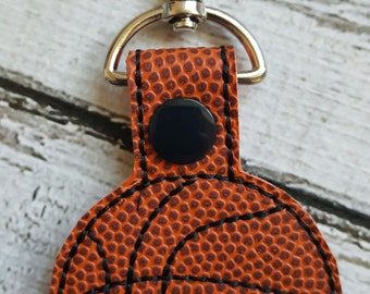 Basketball Key Fob * Key Chain * Zipper Pull * Party Favors