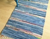 SUMMER'S ABUNDANCE -- Hand-woven multicolored rug