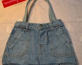 On Sale..  Recently reduced Cherokee Toddler size Denim Jeans Reuseable shopping Bag