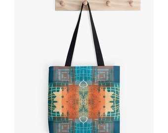 Carry All Bag,Craft Tote Bag,Market Tote,Unique Back to School Supplies,Best Gifts for Artists,Boho Bag,Festival Bag,All Purpose Tote