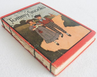 Recycled Book Journal / Tommy Snooks Rebound Journal / by PrairiePeasant