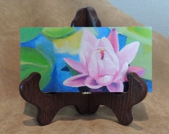 """Water Lilly  3"""" x 6"""""""