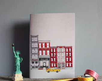 New York Notebook  - A5 Recycled Eco