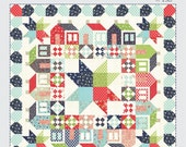 "Black Friday DEAL *** Summerville Quilt Pattern # TBL192, 70"" x 70"" Fat Eighth Friendly Thimble Blossoms Camille Roskelley Vintage Picnic"