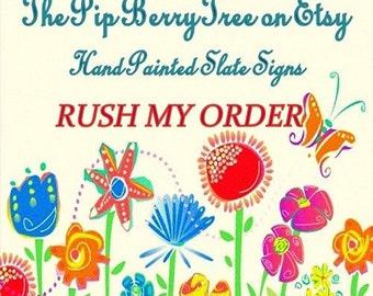 Rush My Order Listing