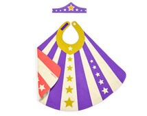 Super Tiara & Cape,  Girl Gift, Princess Costume, Super Girl Costume,