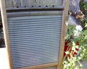 """WASHBOARD CABINET-REcycled """"Our Best National Washboard Co.""""- to Wall Cabinet-Fork handle-,Perfect,Great MeDicine CaBiNeT / Spice Cupboard"""