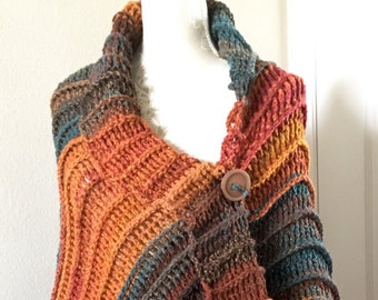 Wraps and Shawls, Colorful Shawls, Ponchos, Women's Sweaters, Wraps, shawls, Mother's Day gift