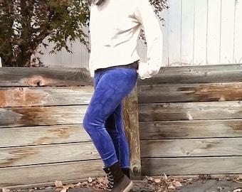 Traveler Velvet leggings (organic cotton velour)