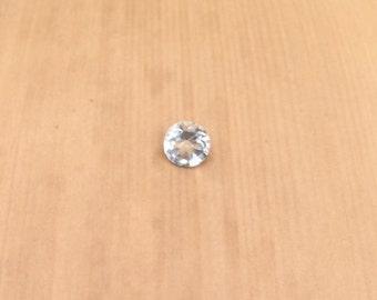 Loose Aquamarine - 3.5mm Round Aquamarine Gemstone weighing .17 carats - LSG769