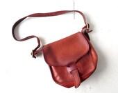 Bonnie Cashin Coach Bag / Vintage 1970s Purse / Coach Courier Pouch Bag / Coach Shoulder Bag