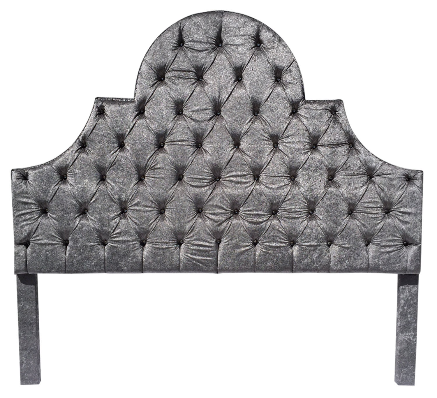 silver gray king size headboard tufted upholstered headboard. Black Bedroom Furniture Sets. Home Design Ideas