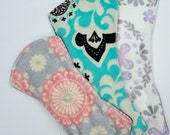 Create Your Own Luxurious Minky Topped Cloth Pad, Radical Rags Eco Friendly Reuseable Menstrual Pad, Sparrows,  Medallions, Mandalas, Floral