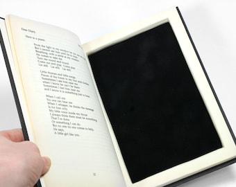 Twin Peaks Handmade Hollow Book Box Secret Stash Booksafe Black Vintage The Secret Diary of Laura Palmer 1990 Gift Box - READY TO SHIP