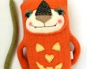 Pumpkin Sweater Cat