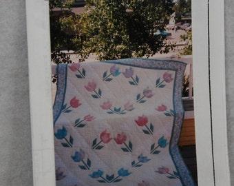 Tulip Garden Quilt Pattern Stitchin' Post Lawry Thorn