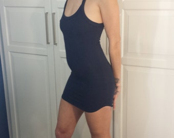 The Commander Dress - Jersey Fitted Dress - Party Dress - Bandage Style Dress