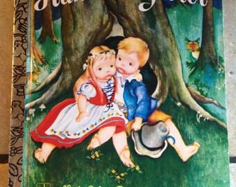 Hansel and Gretel Children's Little Golden Book
