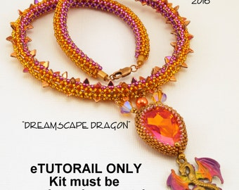eTUTORIAL for Dreamscape Dragon Necklace