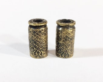 9 mm Bullet Pair, Jewelry Components