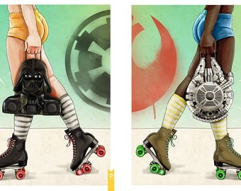 Skate Wars - Print Set