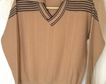 Vintage 1960s Herman Phillips Sweater, Made In Italy