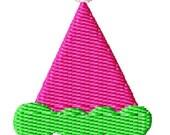 Birthday Party Hat Machine Embroidery Design Mini