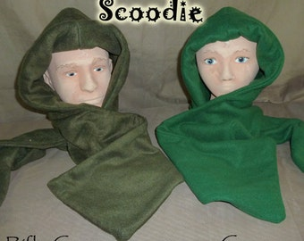 Rifle green scoodie