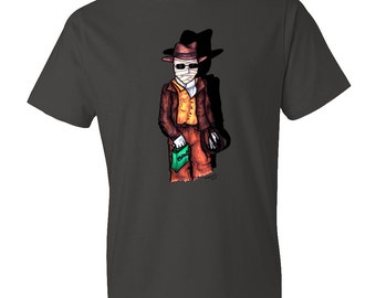 The Invisible Man as Indiana Jones | Tshirt | Horror | Universal Monsters | Halloween | Film | Dress up | Trick or Treat