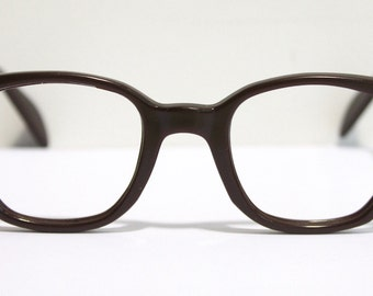 American Optical Eyeglasses  // 50s 60s Vintage  Frames // Brown Wine //RH461