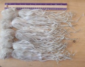 Suri Alpaca locks raw 13 in unwashed white premium fiber for Doll Hair - Blythe,  Art Dolls, bjd, pullip,