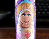 Miss Piggy Prayer Candle / Muppets / Saint Piggy