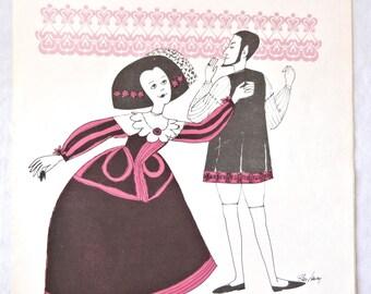 Sarabande Sheet Music, Piano Solo by William Gillock, 1969