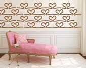 Heart Wall Decal, EKG Decal, Heart Wall Decor, Wedding Wall Decor, Nursery Wall Decal, Valentines Day Wall Decal, Wedding Wall Decal