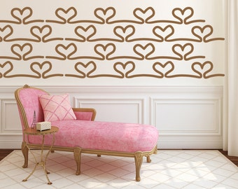 Heart Wall Decal, Nursery Wall Decal, Decor for Kids, Heart Wall Decor, Wedding Wall Decor, Valentines Day Wall Decal, Wedding Decorations