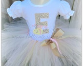 Bee Letter Tutu Outfit