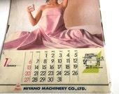 Nude Risqué Advertising Calendar